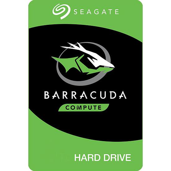Disque dur interne Seagate BarraCuda - 2 To - 64 Mo