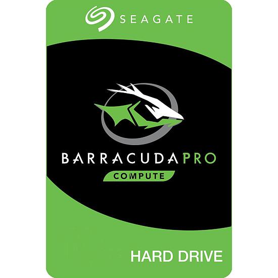 Disque dur interne Seagate BarraCuda Pro - 4 To - 128 Mo
