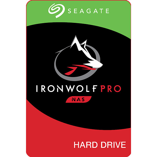 Disque dur interne Seagate IronWolf Pro - 10 To - 256 Mo - Pack de 2