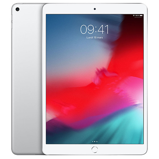 Tablette Apple iPad Air 2019 (argent) - WiFi - 64 Go - 3 Go