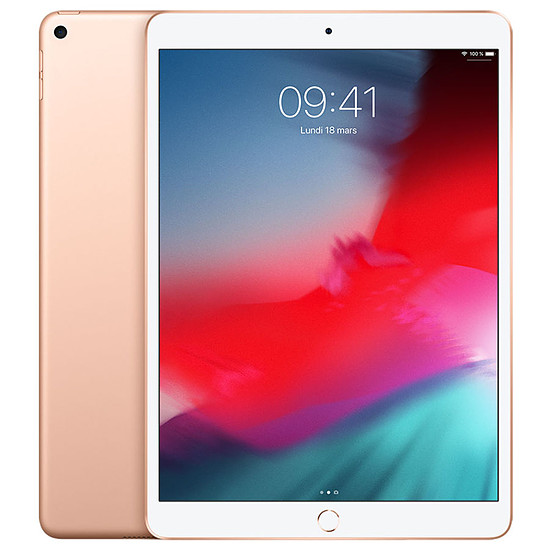 Tablette Apple iPad Air 2019 (or) - WiFi - 256 Go - 3 Go
