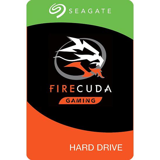 Disque dur interne Seagate FireCuda - 2 To - 8 Go Nand - 64 Mo