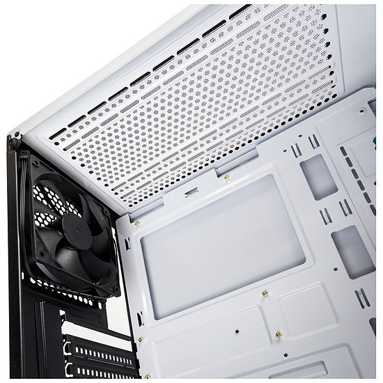 Boîtier PC Kolink Stronghold Blanc - Autre vue