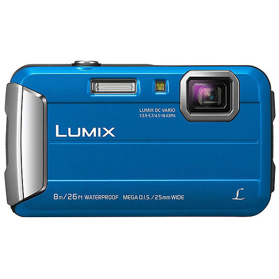 Appareil photo compact ou bridge Panasonic Lumix DMC-FT30 Bleu