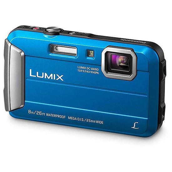 Appareil photo compact ou bridge Panasonic Lumix DMC-FT30 Bleu - Autre vue