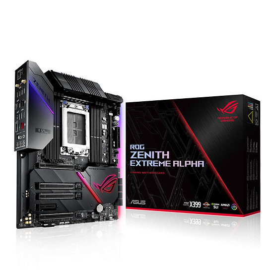 Carte mère Asus ROG ZENITH EXTREME ALPHA - Occasion