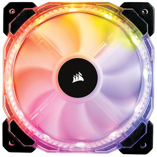 Ventilateur Boîtier Corsair HD140 RGB LED High Performance PWM - Autre vue