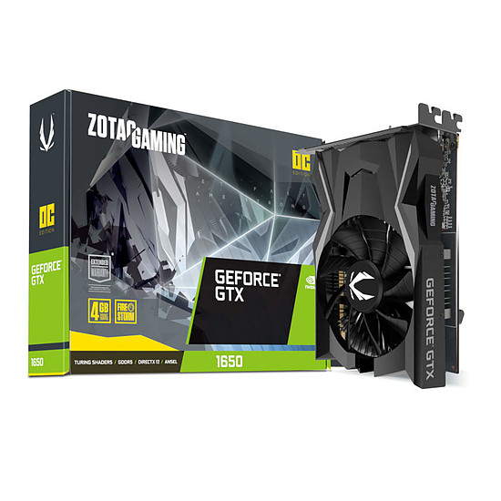 Carte graphique Zotac GeForce GTX 1650 OC