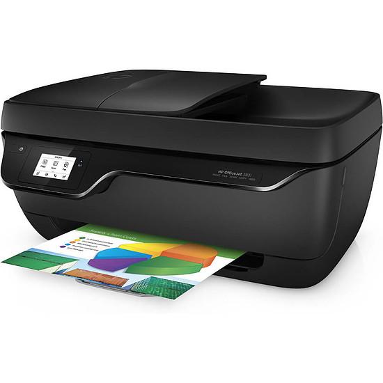 Imprimante multifonction HP Officejet 3831 - Autre vue