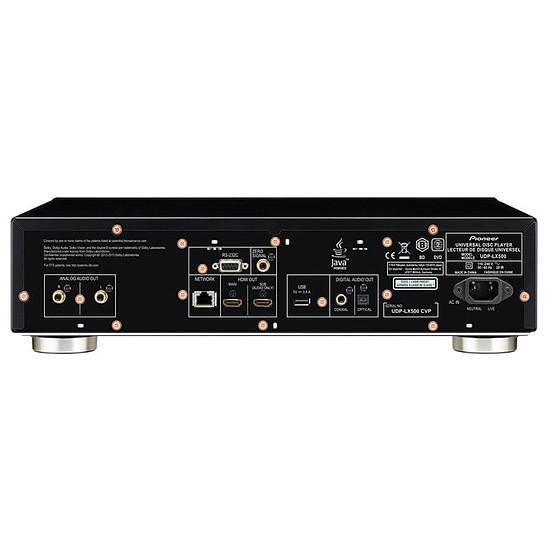 Lecteur Blu-Ray Pioneer UDP-LX500 Noir - Autre vue