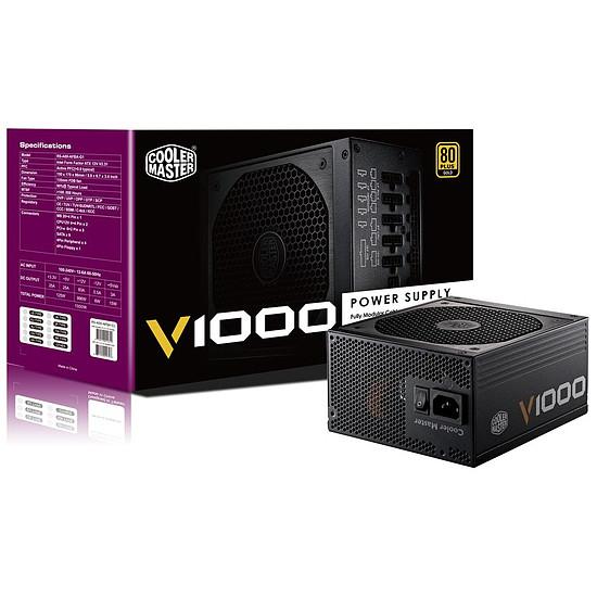 Alimentation PC Cooler Master V1000