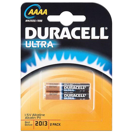Pile et chargeur Duracell Ultra AAAA (par 2)
