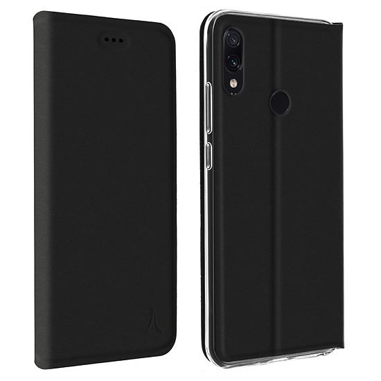 Coque et housse Akashi Etui Folio (noir) - Xiaomi Redmi 7