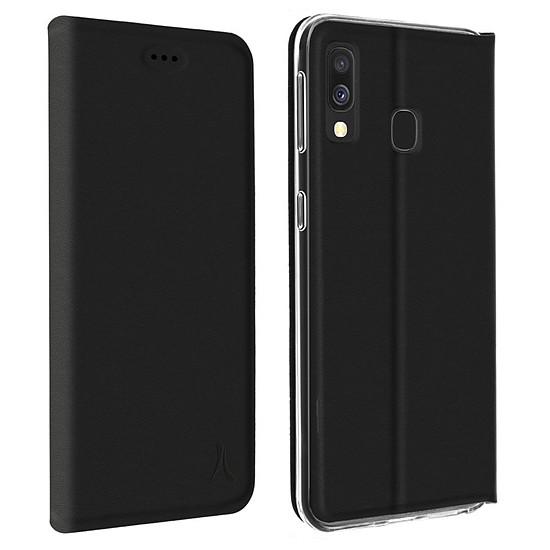 Coque et housse Akashi Etui Folio (noir) - Samsung Galaxy A40