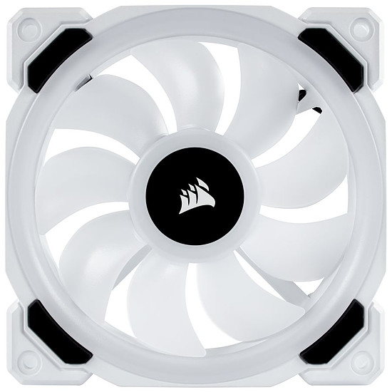 Ventilateur Boîtier Corsair LL120 RGB - 120MM PWM Blanc - Autre vue