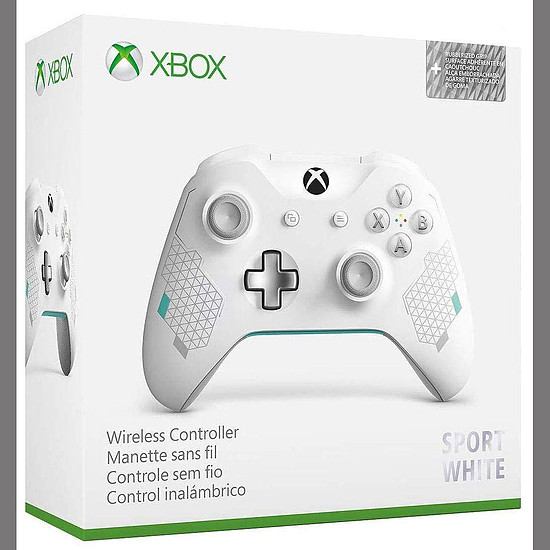 Manette de jeu Microsoft Xbox One - Sport White - Autre vue