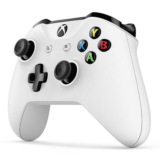 Manette de jeu Microsoft Xbox One - Blanc - Autre vue