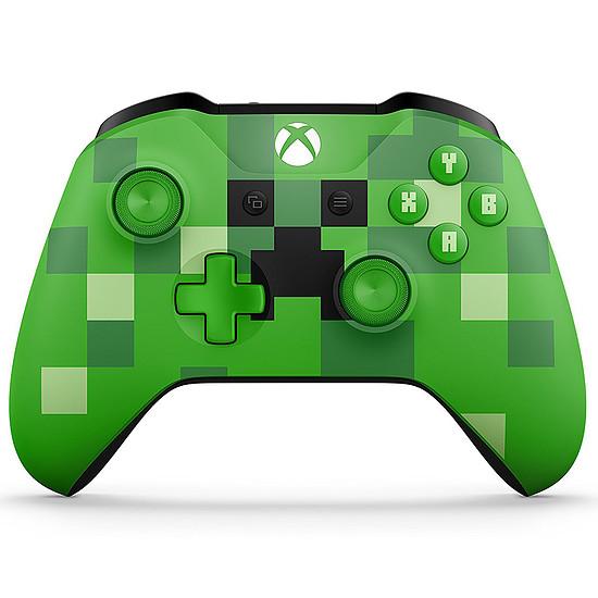 Manette de jeu Microsoft Xbox One - Minecraft Creeper Edition