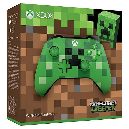 Manette de jeu Microsoft Xbox One - Minecraft Creeper Edition - Autre vue