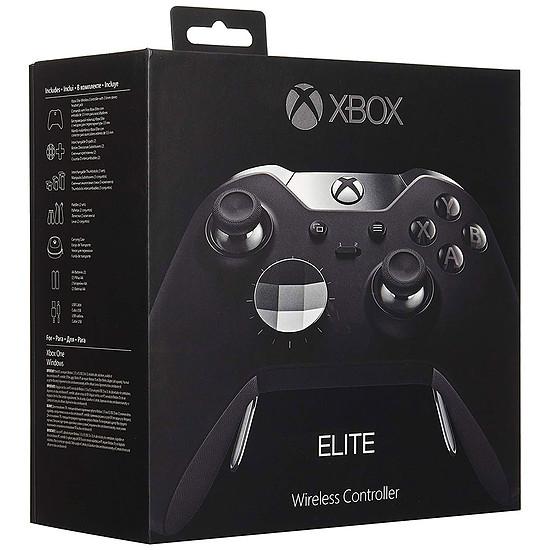 Manette de jeu Microsoft Xbox One Elite - Noir - Autre vue