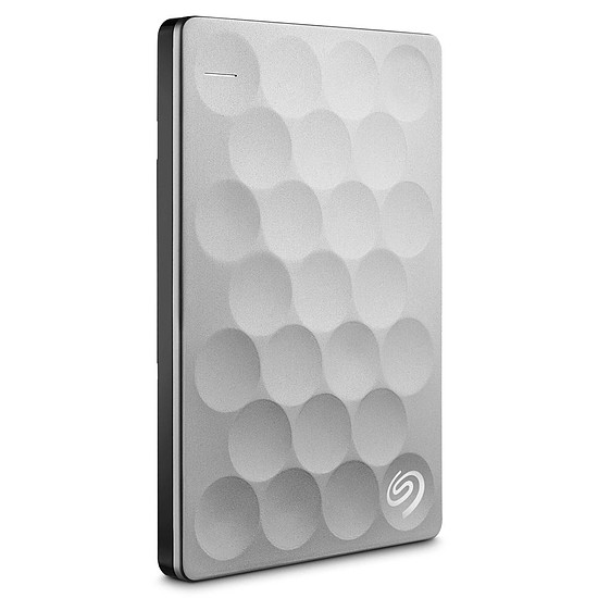 Disque dur externe Seagate Backup Plus Ultra Slim - 2 To Platinum