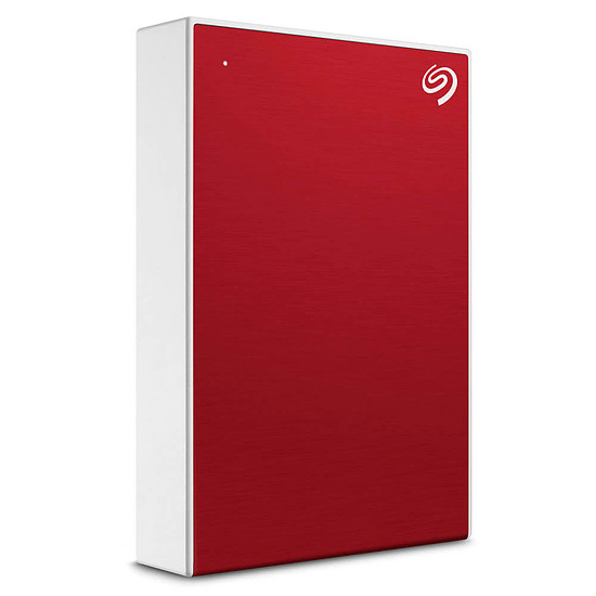 Disque dur externe Seagate Backup Plus Portable - 5 To Rouge