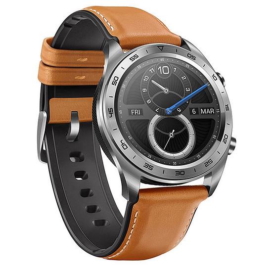 Montre connectée Honor Watch (acier - marron) - GPS - 42 mm
