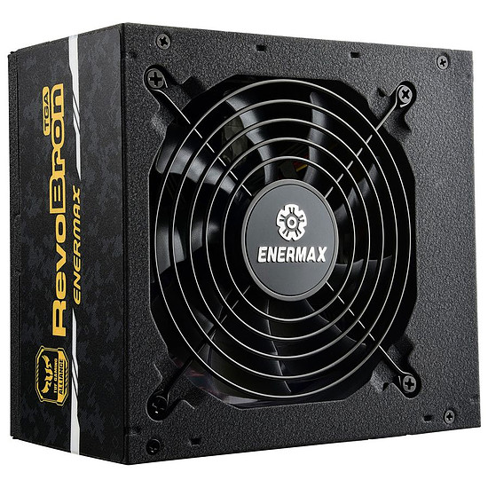 Alimentation PC Enermax RevoBron TUF Gaming Alliance 500W - Autre vue
