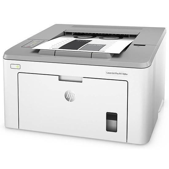 Imprimante laser HP LaserJet Pro M118dw - Autre vue