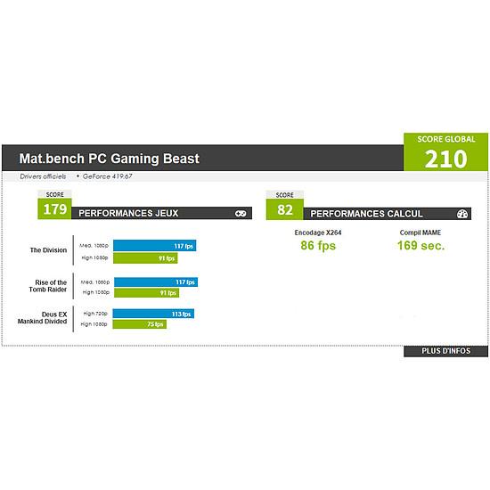 PC de bureau Materiel.net Beast [ PC Gamer ] - Autre vue