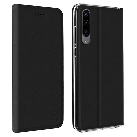 Coque et housse Akashi Etui Folio (noir) - Huawei P30 Lite