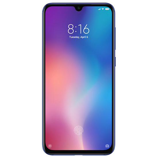 Smartphone et téléphone mobile Xiaomi Mi 9 SE (bleu) - 64 Go - 6 Go
