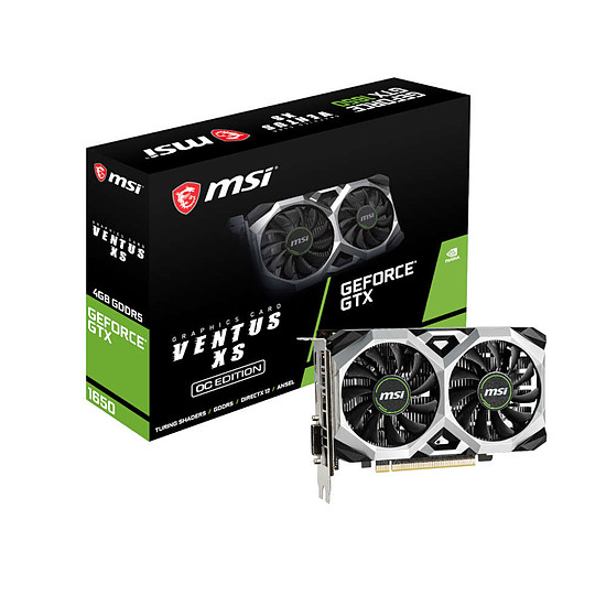 Carte graphique MSI GeForce GTX 1650 VENTUS XS OC