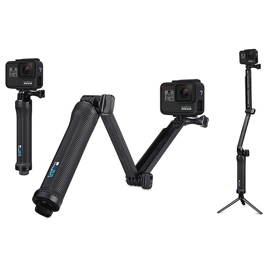 free shipping new images of sale online GoPro Fixation 3-Way (poignée - perche - trépied ...