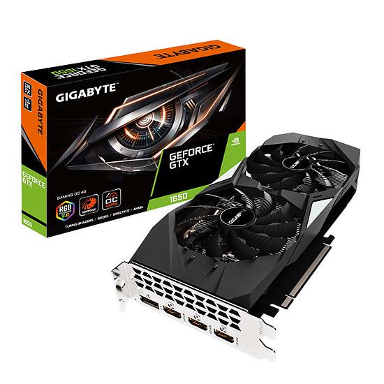 Carte graphique Gigabyte GeForce GTX 1650 Gaming OC