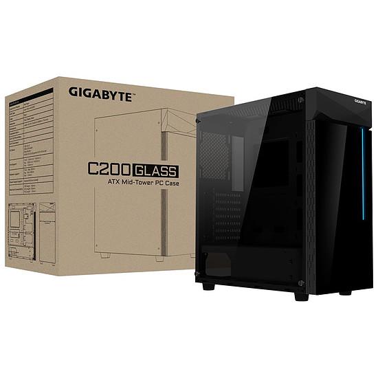 Boîtier PC Gigabyte C200 Glass - Autre vue
