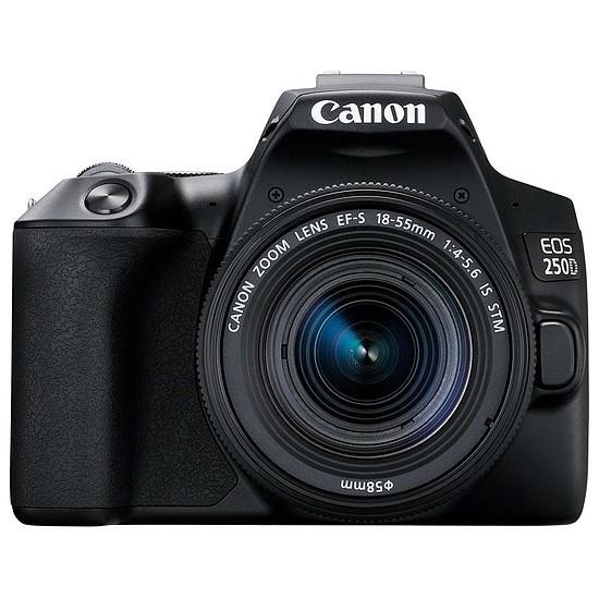 Appareil photo Reflex Canon EOS 250D Noir + 18-55 IS STM Noir