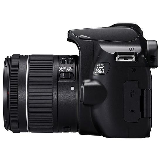 Appareil photo Reflex Canon EOS 250D Noir + 18-55 IS STM Noir - Autre vue