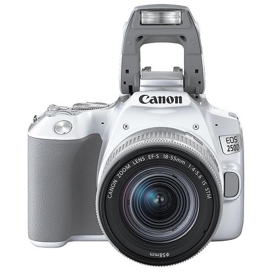 Appareil photo Reflex Canon EOS 250D Blanc + 18-55 IS STM Argent - Autre vue