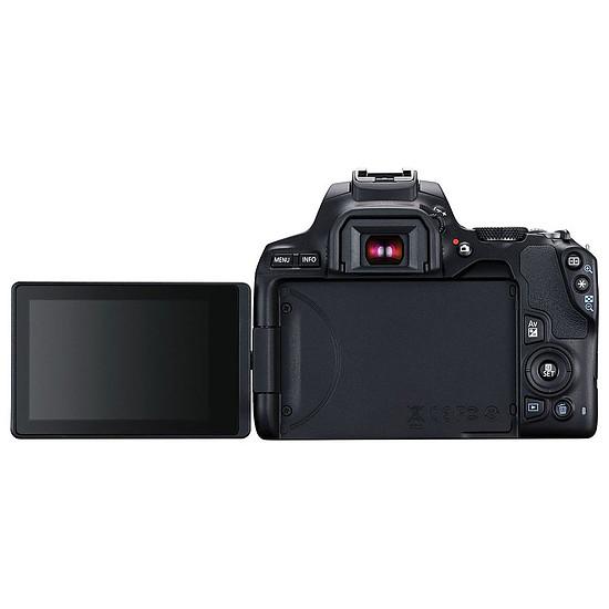 Appareil photo Reflex Canon EOS 250D Noir + 18-135 IS STM Noir - Autre vue