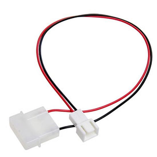 Alimentation Adaptateur d'alimentation Molex pour ventilateur 3 broches