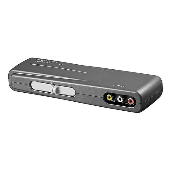 Vidéo-composite Switch Audio/Vidéo RCA 4 ports