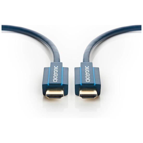 HDMI Clicktronic câble High Speed HDMI with Ethernet (0.5 mètre) - Autre vue