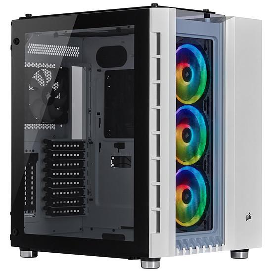 Boîtier PC Corsair Crystal Series 680X RGB - White