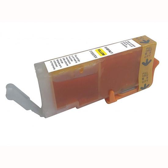 Cartouche imprimante Cartouche compatible CLI-551Y XL (Jaune)