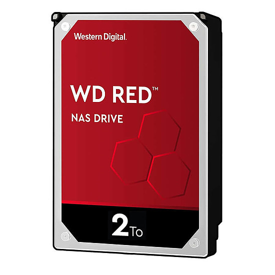 Disque dur interne Western Digital WD Red 2 To 64 Mo