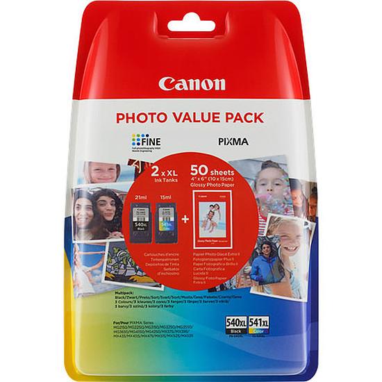 Cartouche imprimante Canon MultiPack PG-540 + CL-541 XL Photo Value Pack