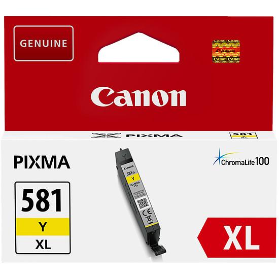 Cartouche imprimante Canon CLI-581Y Jaune XL
