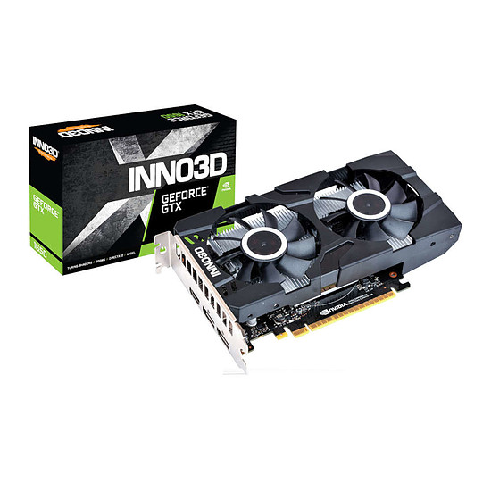Carte graphique Inno3D GeForce GTX 1650 Twin X2 OC