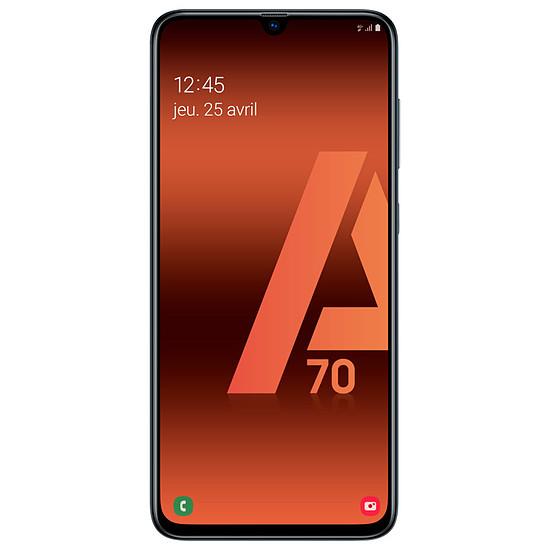 Smartphone et téléphone mobile Samsung Galaxy A70 (noir) - 128 Go - 6 Go